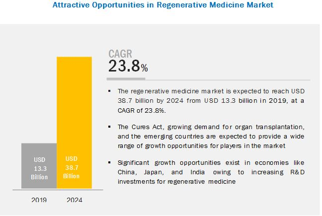 Regenerative Medicine Market Worth $38 7 Billion by 2024 - WFMJ com