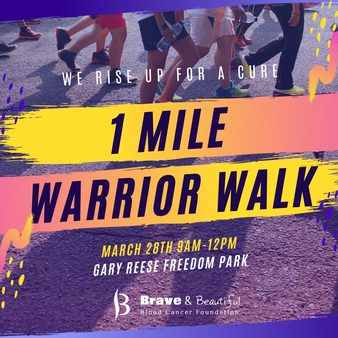 1 Mile Warrior Walk