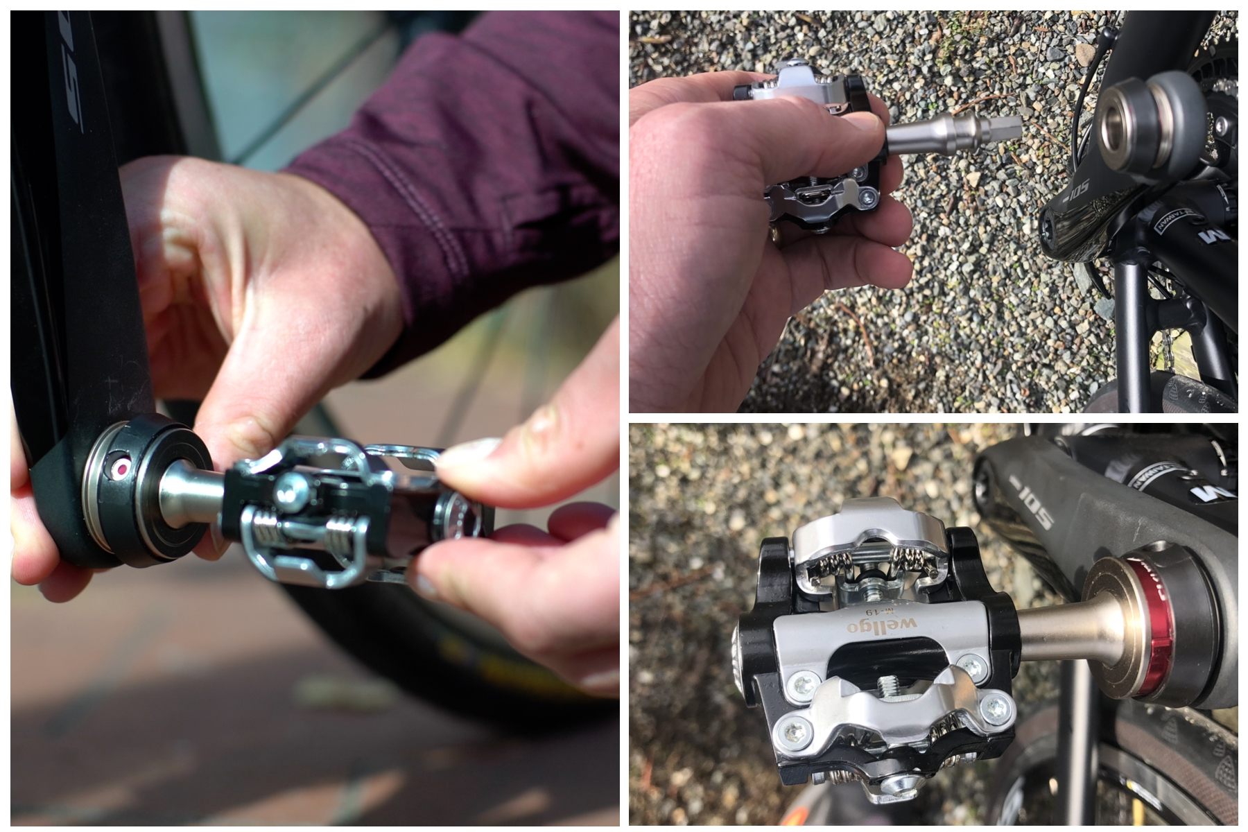 B. Flatbike Century popoff pedals