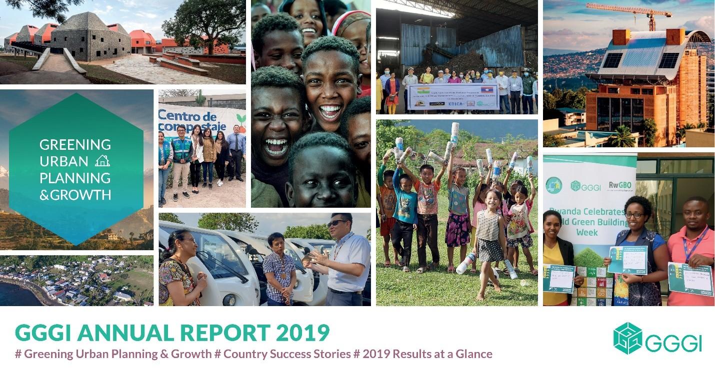 GGGI Annual report cover