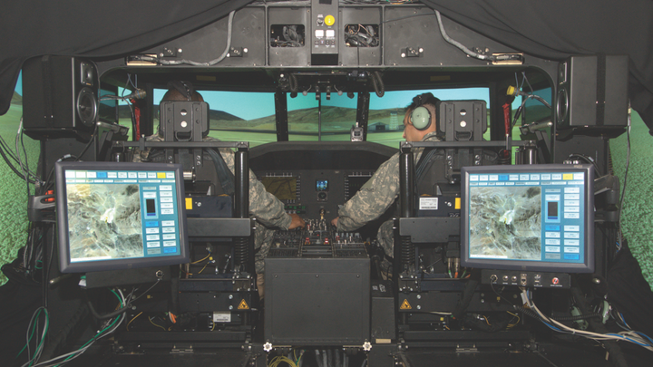 Military Aerospace Simulation and Training market