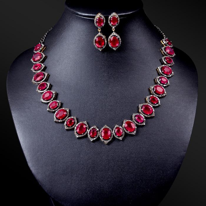 Ruby Necklace market